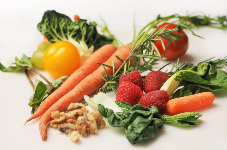 Picture of a variety of vegetables