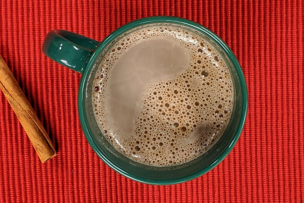 hot chocolate holiday cooking