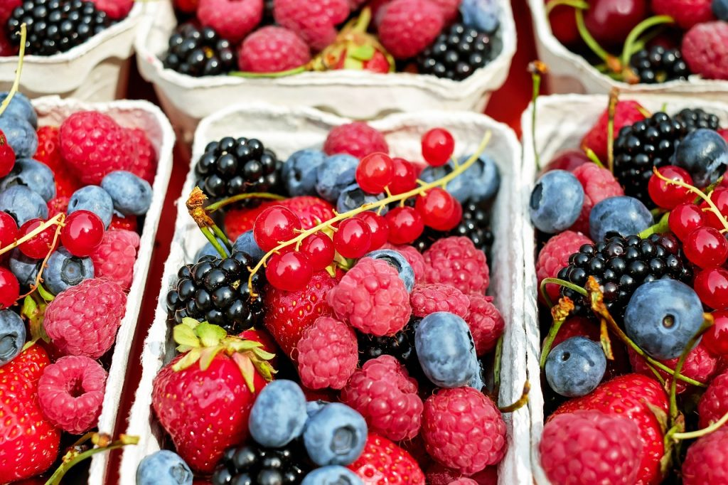 Berries rich in phytochemicals